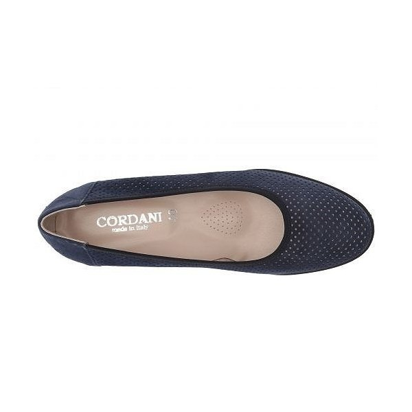 Cordani コルダーニ レディース 女性用 シューズ 靴 ローファー ボートシューズ Armel - Navy Suede