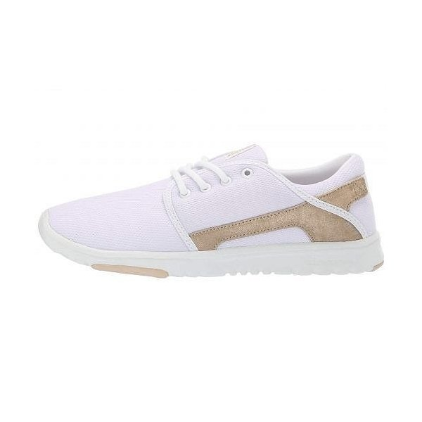 Etnies エトニーズ レディース 女性用 シューズ 靴 スニーカー 運動靴 Scout W - White/Gold