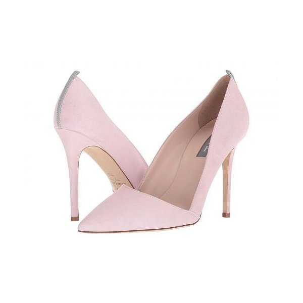 SJP by Sarah Jessica Parker エスジェーピー レディース 女性用 シューズ 靴 ヒール Rampling - Pink Suede