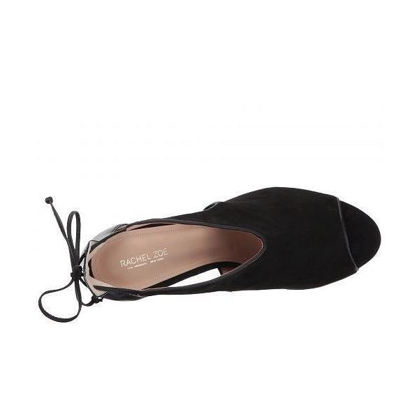Rachel Zoe レイチェルゾー レディース 女性用 シューズ 靴 ヒール Stephanie Peep-Toe - Black Suede