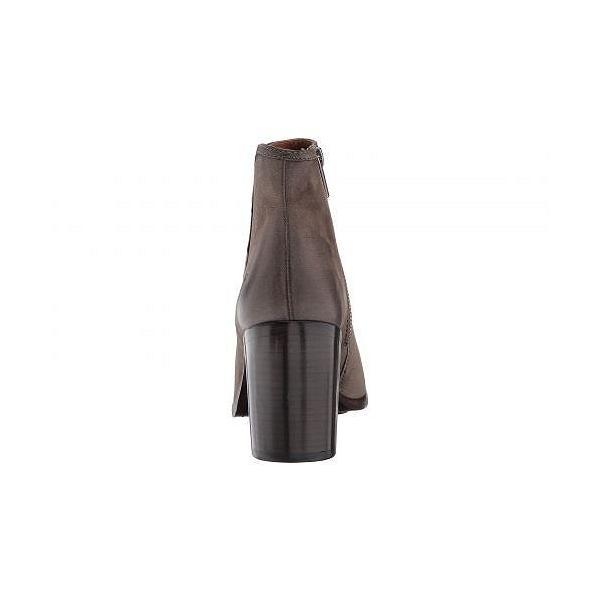 Frye フライ レディース 女性用 シューズ 靴 ブーツ アンクルブーツ ショート Danica Peep Bootie - Grey Nubuck