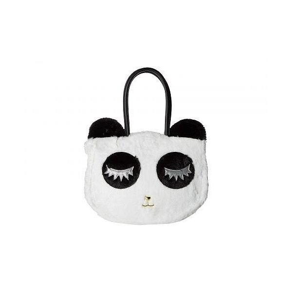 Luv Betsey ラヴベッツィー レディース 女性用 バッグ 鞄 トートバッグ バックパック リュック Alley Kitch Plush Cat Tote - Black/White