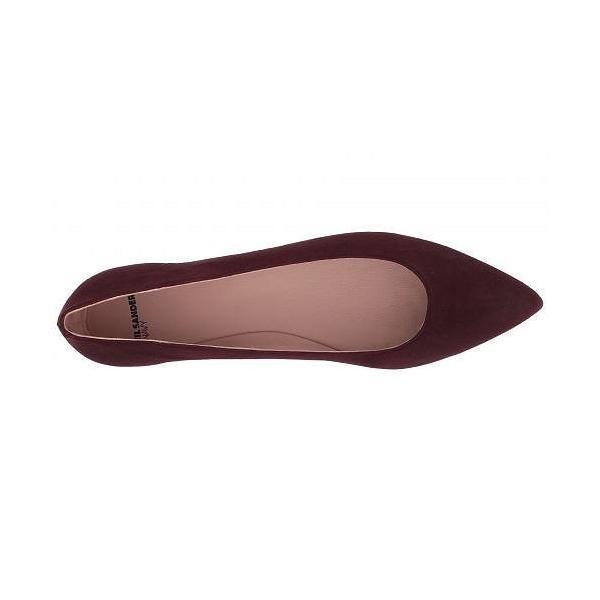 Jil Sander Navy ジルサンダーネイビー レディース 女性用 シューズ 靴 フラット JN29011 - Bordeaux