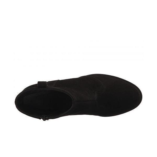 La Canadienne ラカナディアン レディース 女性用 シューズ 靴 ブーツ アンクルブーツ ショート Peyton - Black Suede