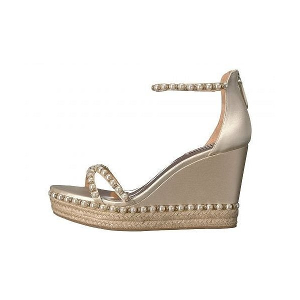 Badgley Mischka バッジリーミシュカ レディース 女性用 シューズ 靴 ヒール Sloan - Ivory Satin