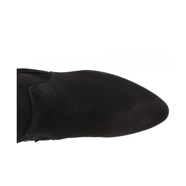 Aquatalia アクアタリア レディース 女性用 シューズ 靴 ブーツ ロングブーツ Rhumba II - Black Stretch Suede