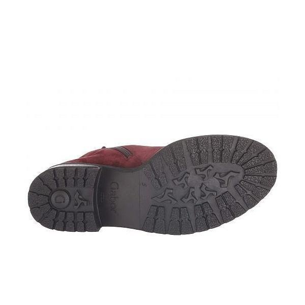Gabor ガボール レディース 女性用 シューズ 靴 ブーツ アンクルブーツ ショート Gabor 96.095 - Dark Red