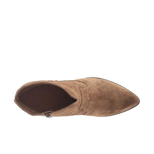 Frye フライ レディース 女性用 シューズ 靴 ブーツ アンクルブーツ ショート Renee Seam Short - Cashew