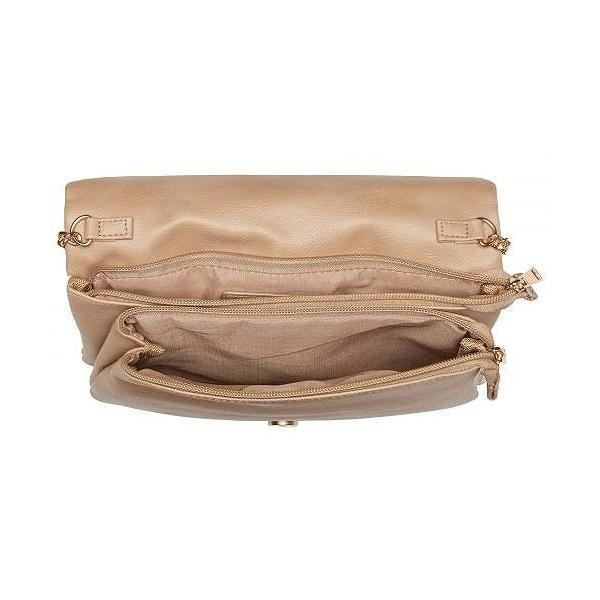 Rampage ランペイジ レディース 女性用 バッグ 鞄 バックパック リュック Double Quilt Chevron Crossbody - Latte