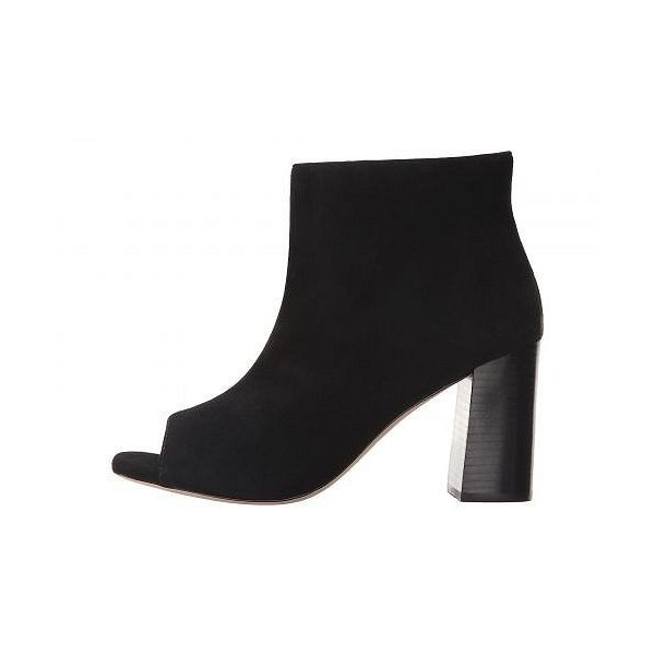 Johnston & Murphy ジョーンストンアンドマーフィー レディース 女性用 シューズ 靴 ブーツ アンクルブーツ ショート Lizzie - Black Kid Suede