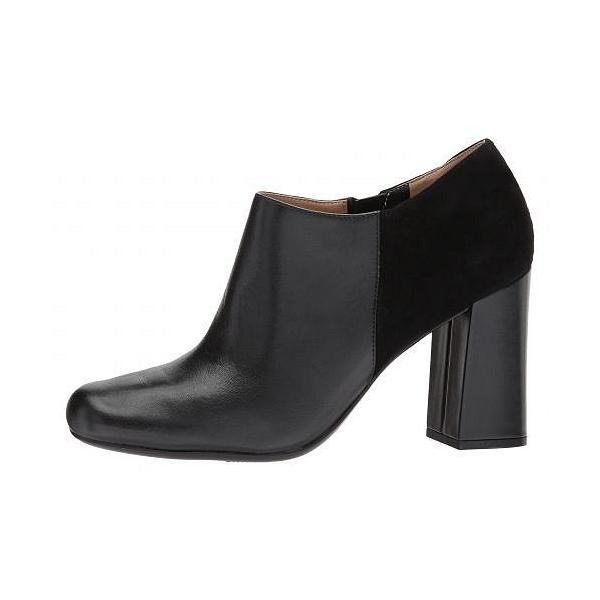 Naturalizer ナチュラライザー レディース 女性用 シューズ 靴 ヒール Rainy - Black Leather/Suede
