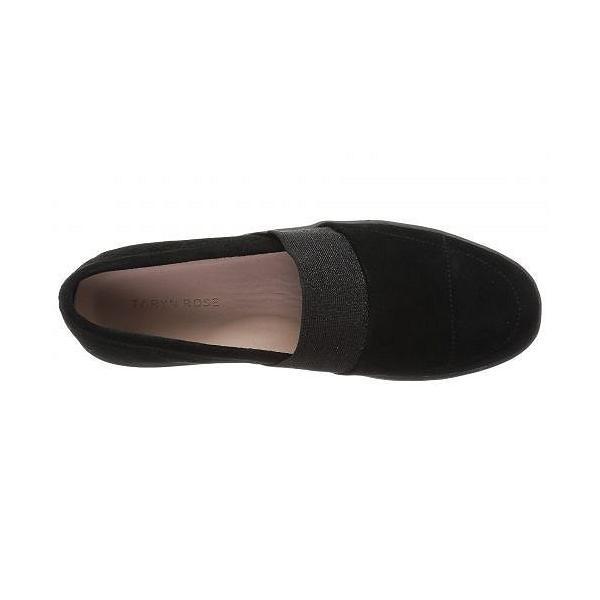 Taryn Rose タリンローズ レディース 女性用 シューズ 靴 スニーカー 運動靴 Greta - Black Silky Suede