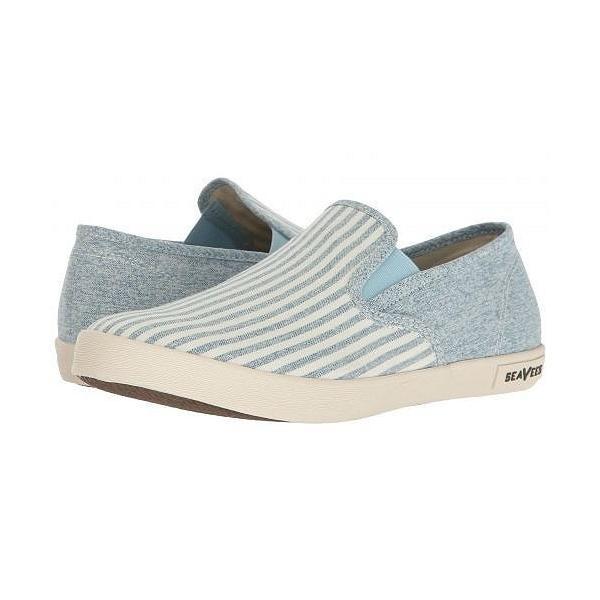 SeaVees シービーズ レディース 女性用 シューズ 靴 スニーカー 運動靴 02/64 Baja Beach Club - Soft Blue