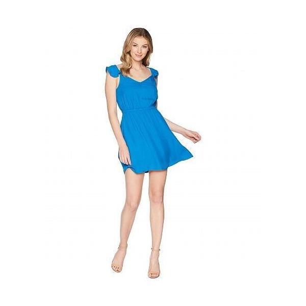 Jack by BB Dakota レディース 女性用 ファッション ドレス Annalise Flutter Sleeve Open Back Dress - Azure Blue