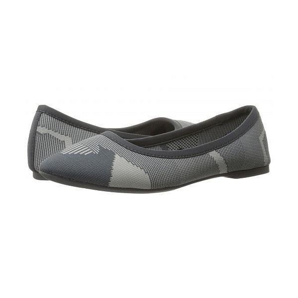 SKECHERS スケッチャーズ レディース 女性用 シューズ 靴 フラット Cleo Wham - Charcoal/Grey