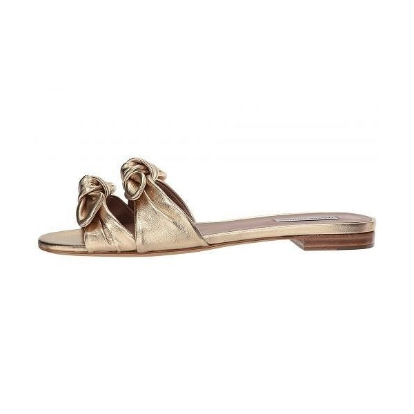 Tabitha Simmons タビサシモンズ レディース 女性用 シューズ 靴 サンダル Cleo - Gold Metallic Nappa