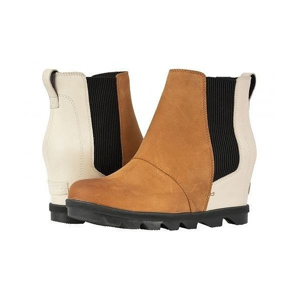 SOREL ソレル レディース 女性用 シューズ 靴 ブーツ チェルシーブーツ アンクル Joan of Arctic(TM) Wedge II Chelsea - Camel Brown