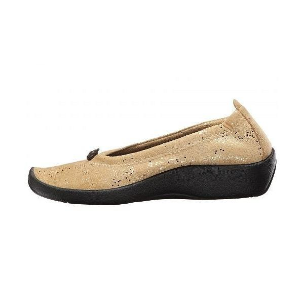 Arcopedico アルコペディコ レディース 女性用 シューズ 靴 フラット L14 - Gold Sparkle