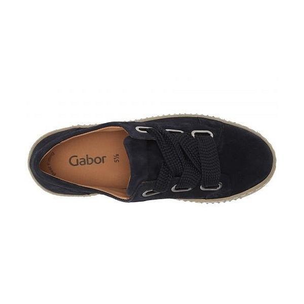 Gabor ガボール レディース 女性用 シューズ 靴 スニーカー 運動靴 Gabor 93.331 - Dark Navy