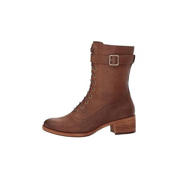 Kork-Ease コークイーズ レディース 女性用 シューズ 靴 ブーツ レースアップブーツ Mona - Brown Full Grain Leather
