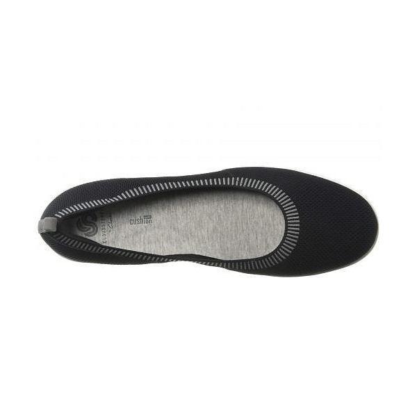 Clarks クラークス レディース 女性用 シューズ 靴 フラット Ayla Paige - Black Knit