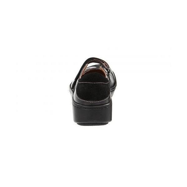 Naot ナオト レディース 女性用 シューズ 靴 フラット Sea - Black Suede/Shiny Leather