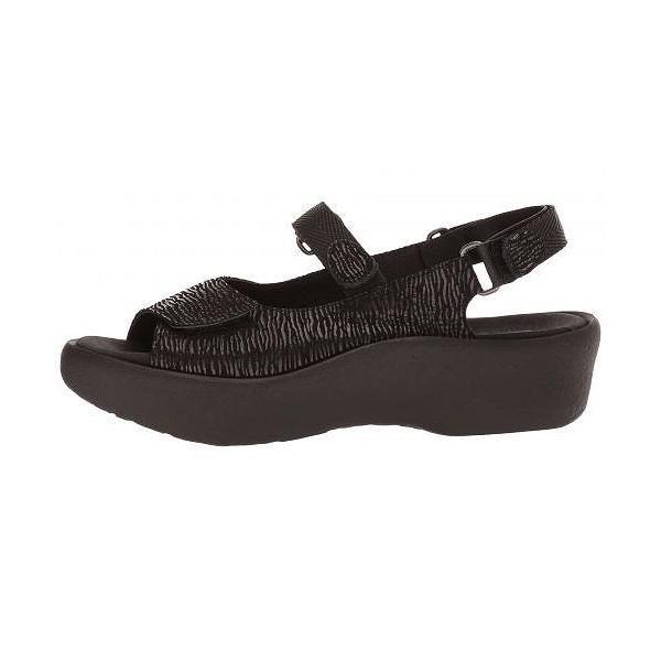 Wolky ウォーキー レディース 女性用 シューズ 靴 サンダル Jewel - Black Canals
