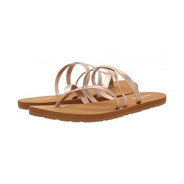 Volcom ヴォルコム レディース 女性用 シューズ 靴 サンダル Easy Breezy Sandals - Rose Gold