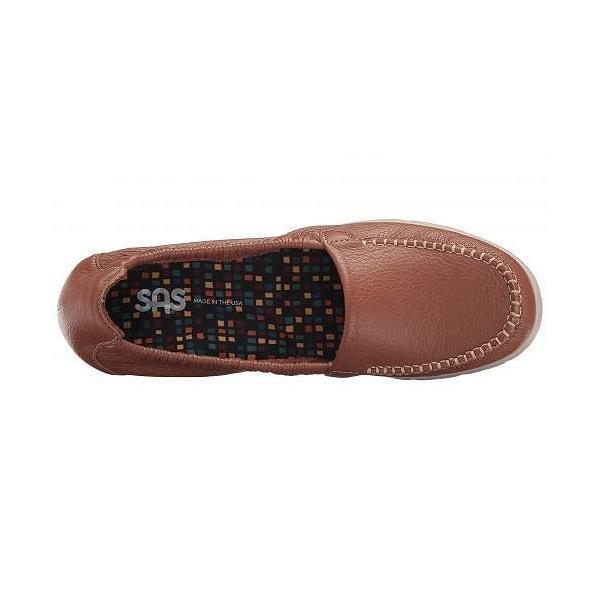 SAS サス レディース 女性用 シューズ 靴 ローファー ボートシューズ Sunny - Pecan Brown
