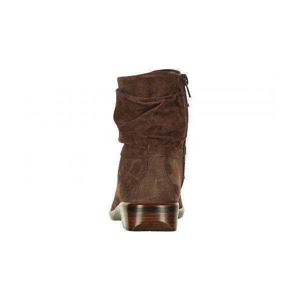 Naot ナオト レディース 女性用 シューズ 靴 ブーツ アンクルブーツ ショート Brisote - Coffee Bean Nubuck