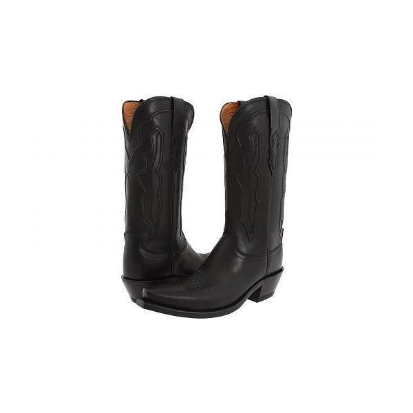 Lucchese ルケーシー レディース 女性用 シューズ 靴 ブーツ ウエスタンブーツ M5006 - Black Ranch Hand