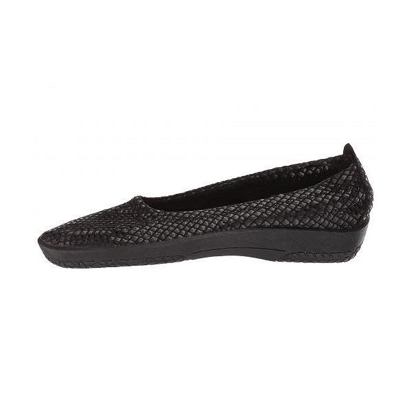 Arcopedico アルコペディコ レディース 女性用 シューズ 靴 フラット L15 - Black Shine