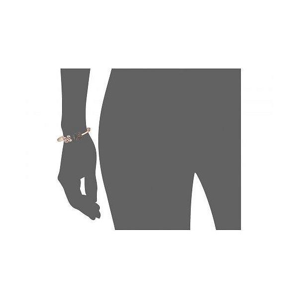 Swarovski スワロフスキー レディース 女性用 ジュエリー 宝飾品 ブレスレット Facet Swan Bangle Bracelet - Multi/Rose Gold/Black/Clear Crystal