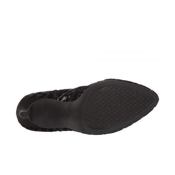 Jessica Simpson ジェシカシンプソン レディース 女性用 シューズ 靴 ヒール Parisah 3 - Black Leopard Flocked Mesh