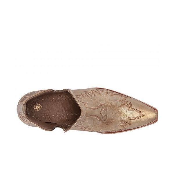 Ariat アリアト レディース 女性用 シューズ 靴 ブーツ アンクルブーツ ショート Dixon - Distressed Gold