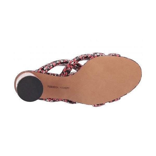 Rebecca Minkoff レベッカミンコフ レディース 女性用 シューズ 靴 ヒール Amandine - Red Floral Print Pu