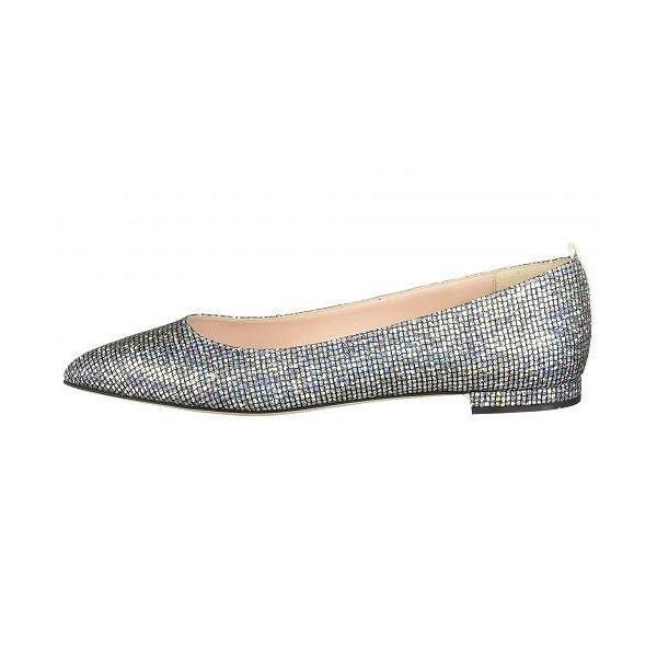 SJP by Sarah Jessica Parker エスジェーピー レディース 女性用 シューズ 靴 フラット Story - Silver Scintillate