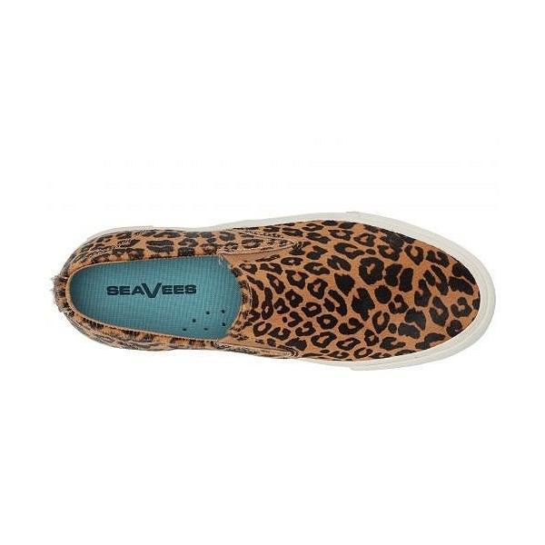 SeaVees シービーズ レディース 女性用 シューズ 靴 スニーカー 運動靴 Baja Platform Mulholland - Leopard Cow Hide