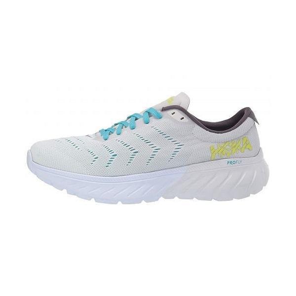 Hoka One One ホカオネオネ レディース 女性用 シューズ 靴 スニーカー 運動靴 Mach 2 - White/Nimbus Cloud