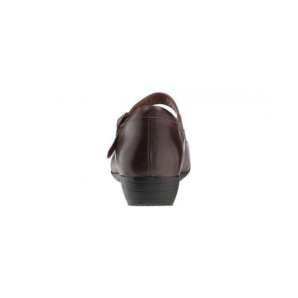 Dansko ダンスコ レディース 女性用 シューズ 靴 フラット Fawna - Chocolate Burnished Calf