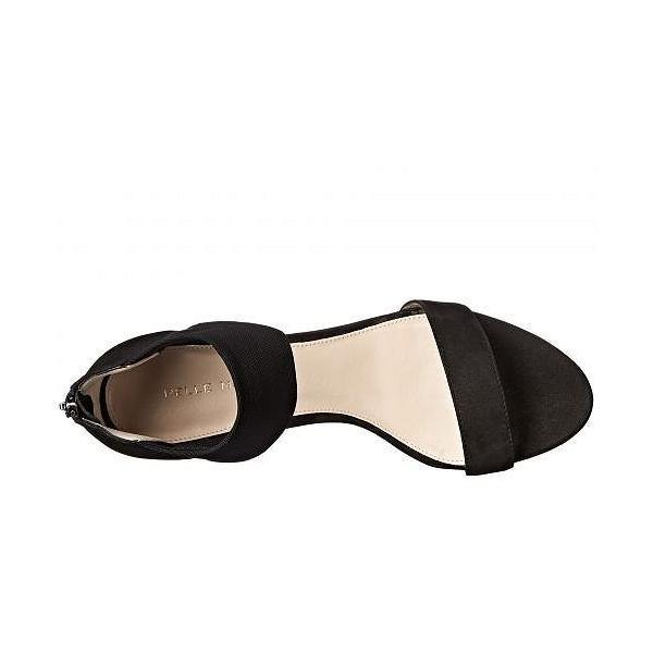 Pelle Moda ペレモーダ レディース 女性用 シューズ 靴 ヒール Eden - Black Nubuck/Stretch Mesh