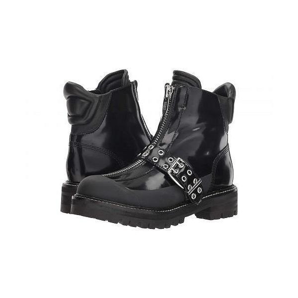 Sigerson Morrison シガーソンモリソン レディース 女性用 シューズ 靴 ブーツ アンクルブーツ ショート Ipo - Black Leather/Rubber