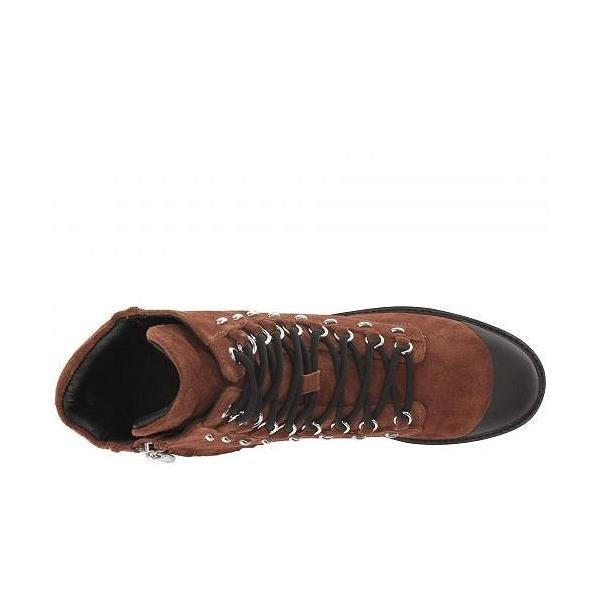 Sigerson Morrison シガーソンモリソン レディース 女性用 シューズ 靴 ブーツ レースアップブーツ Irene - Bruciato Brown Leather/Rubber