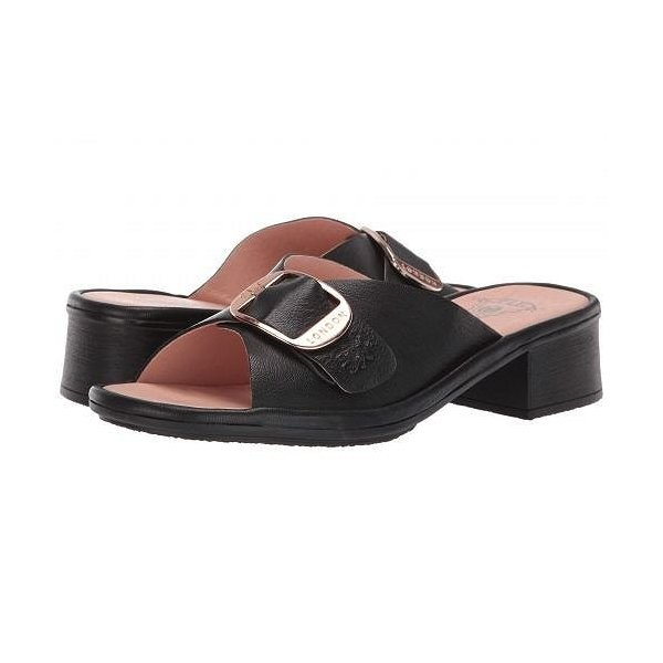 FLY LONDON フライロンドン レディース 女性用 シューズ 靴 ヒール ELAX964FLY - Black Mousse