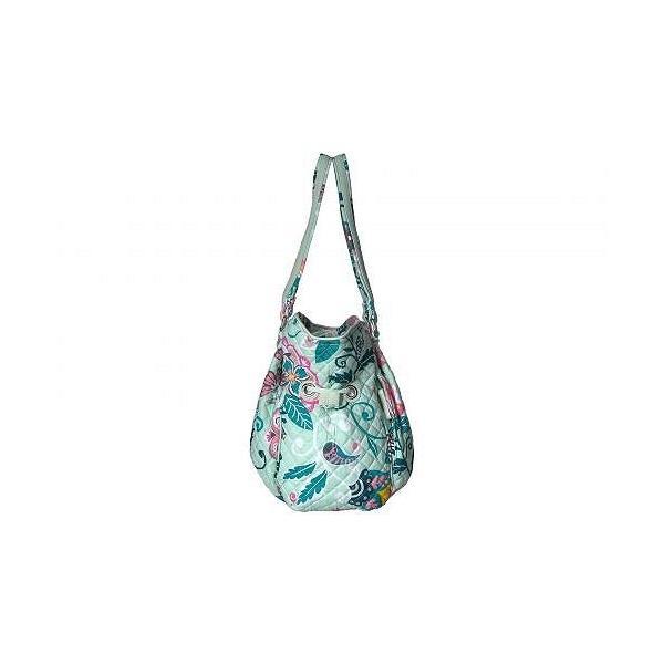 Vera Bradley ベラブラッドリー レディース 女性用 バッグ 鞄 ハンドバッグ サッチェル Iconic Glenna Satchel - Mint Flowers