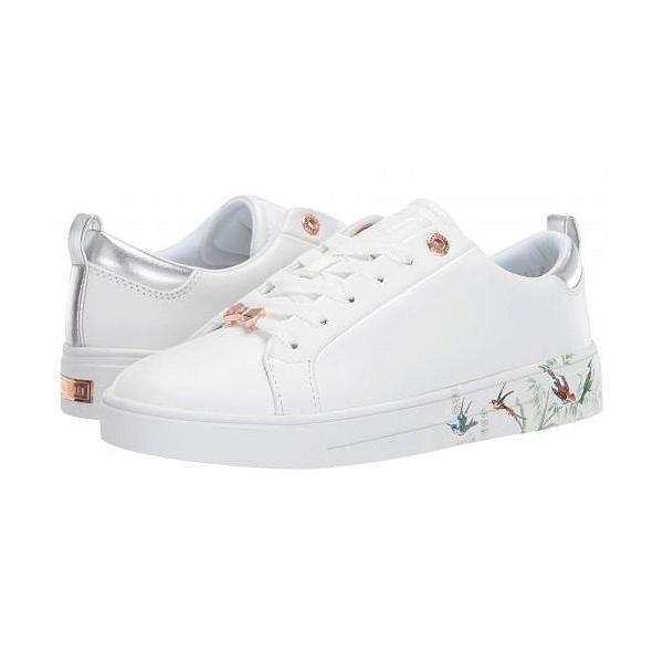 Ted Baker テッドベイカー レディース 女性用 シューズ 靴 スニーカー 運動靴 Roully - White Fortune