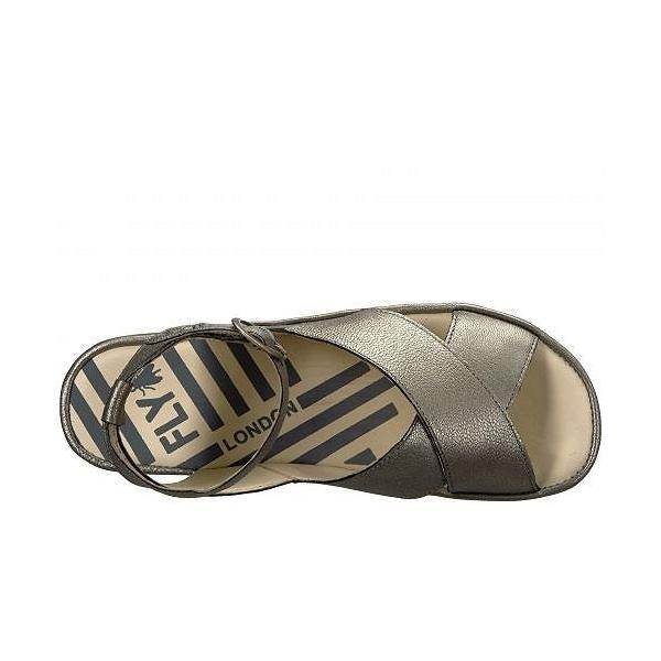FLY LONDON フライロンドン レディース 女性用 シューズ 靴 ヒール BITE850FLY - Lead Borgogna