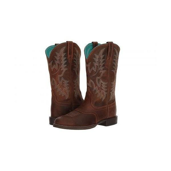Ariat アリアト レディース 女性用 シューズ 靴 ブーツ ウエスタンブーツ Heritage Stockman - Sassy Brown