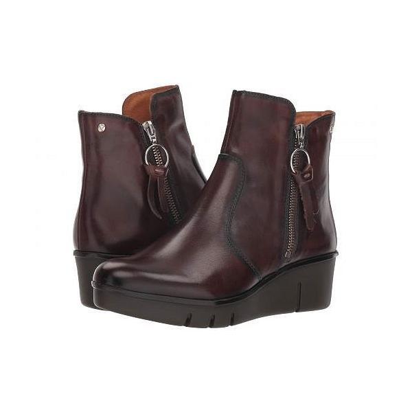 Pikolinos レディース 女性用 シューズ 靴 ブーツ アンクルブーツ ショート Balerma W9U-8673 - Olmo