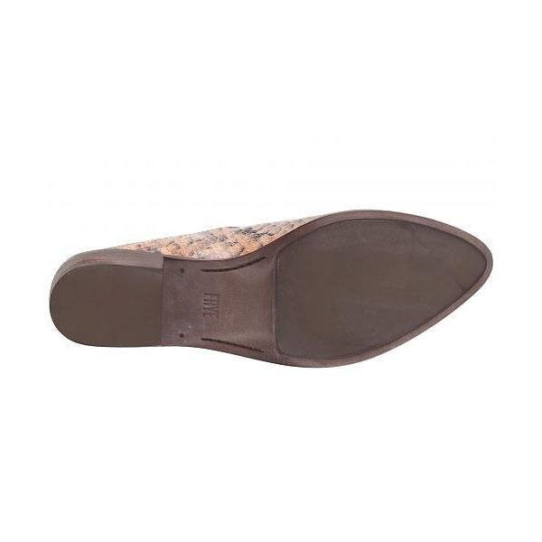 Frye フライ レディース 女性用 シューズ 靴 クロッグ ミュール Ray Mule - Tan Multi Snake Embossed Leather